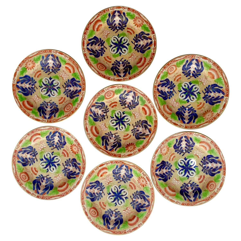 seven wegwood chrysanthemum dessert plates  modern dinner plates  - seven wegwood chrysanthemum dessert plates modern dinner