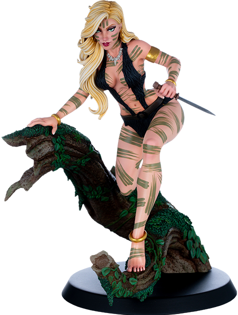 Dynamite Entertainment Sheena Night Stalker Variant Statue In 2020 Scott Campbell Character Statue Statue
