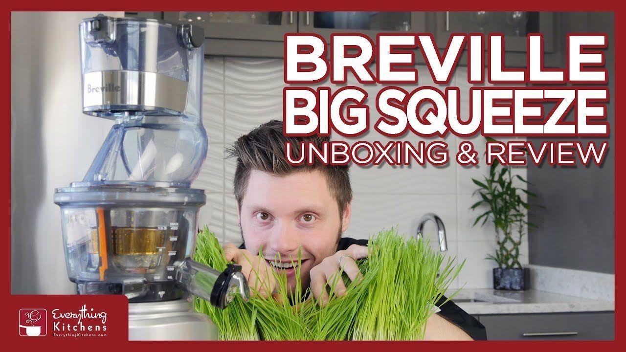 Breville Big Squeeze Slow Juicer Review Unboxing Test Bjs700 Youtube Juicer Reviews Breville Juicer