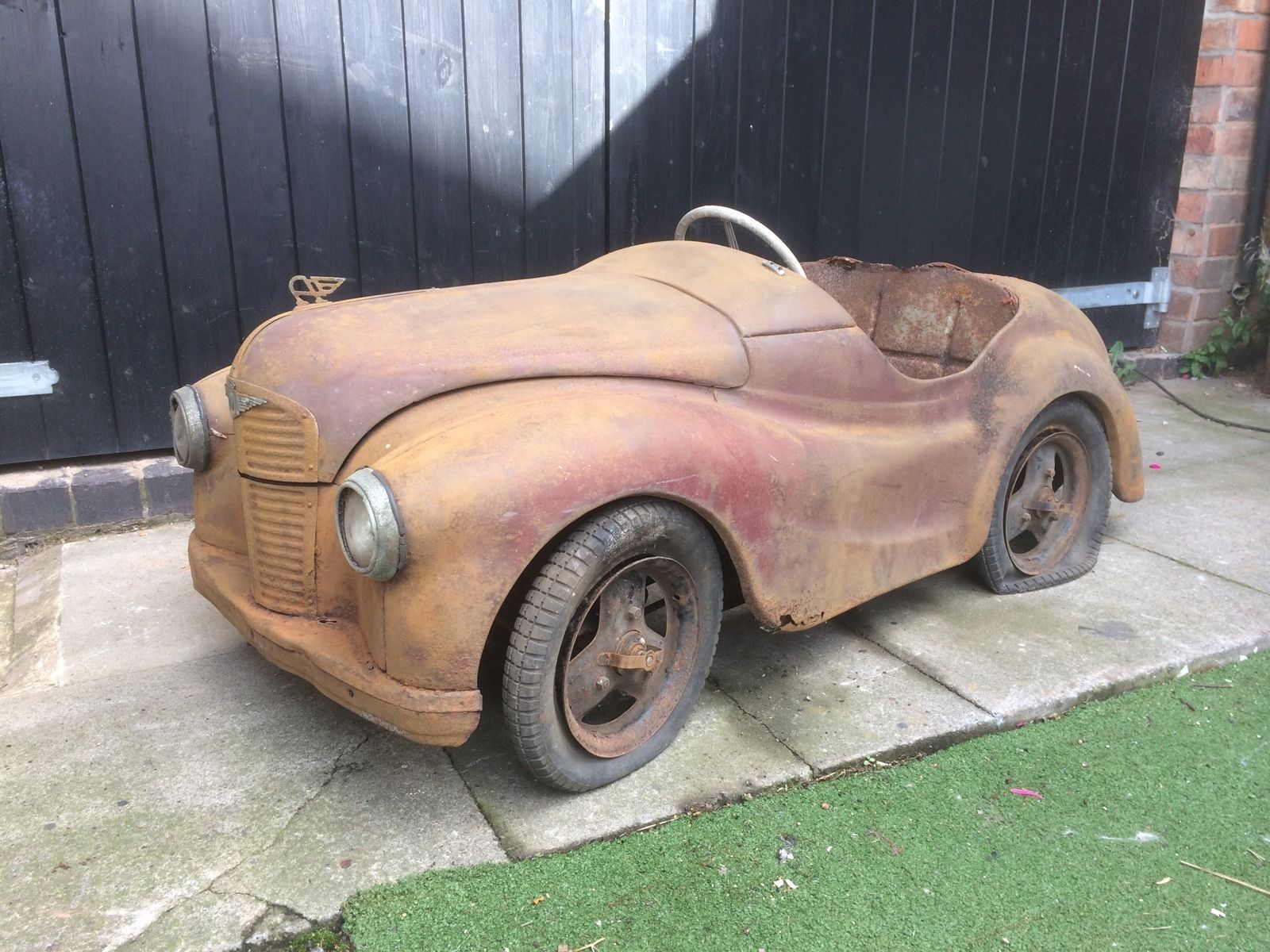 Austin J40 Classic Pedal Car Genuine Barn Find