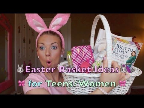 Easter basket ideas for teen girls easter ideas pinterest easter basket ideas for teen girls negle Choice Image