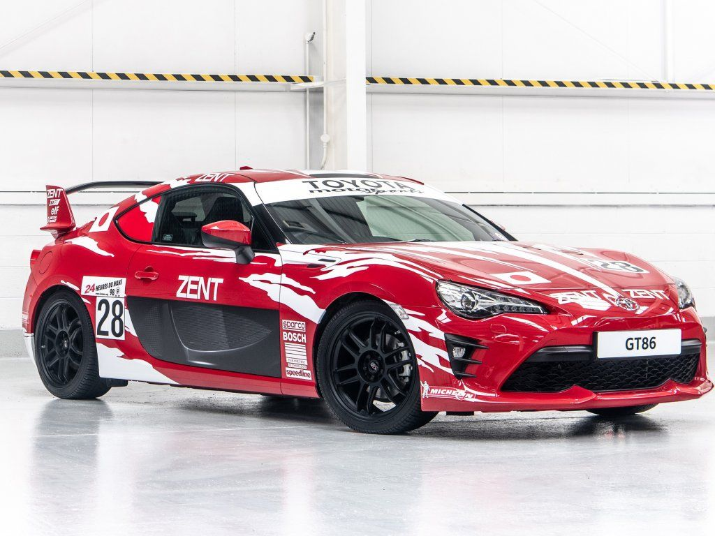 Toyota GT86, Sports Car, 2018, Red Wallpaper
