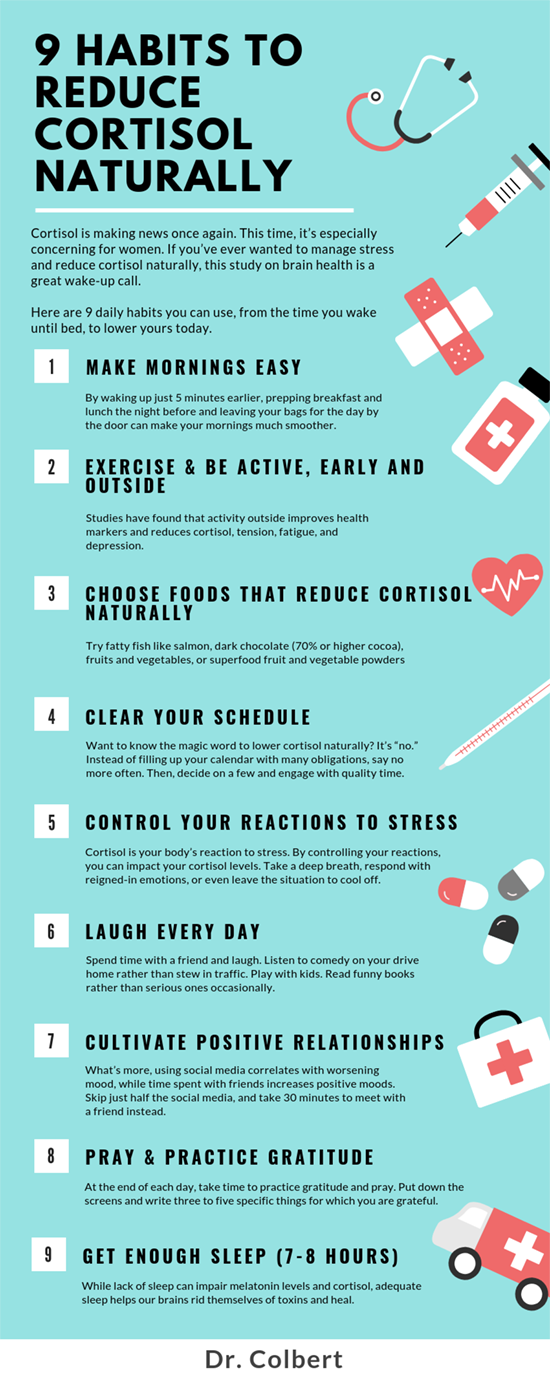 9 Habits To Reduce Cortisol Naturally Cortisol How To Relieve Stress Reducing Cortisol Levels