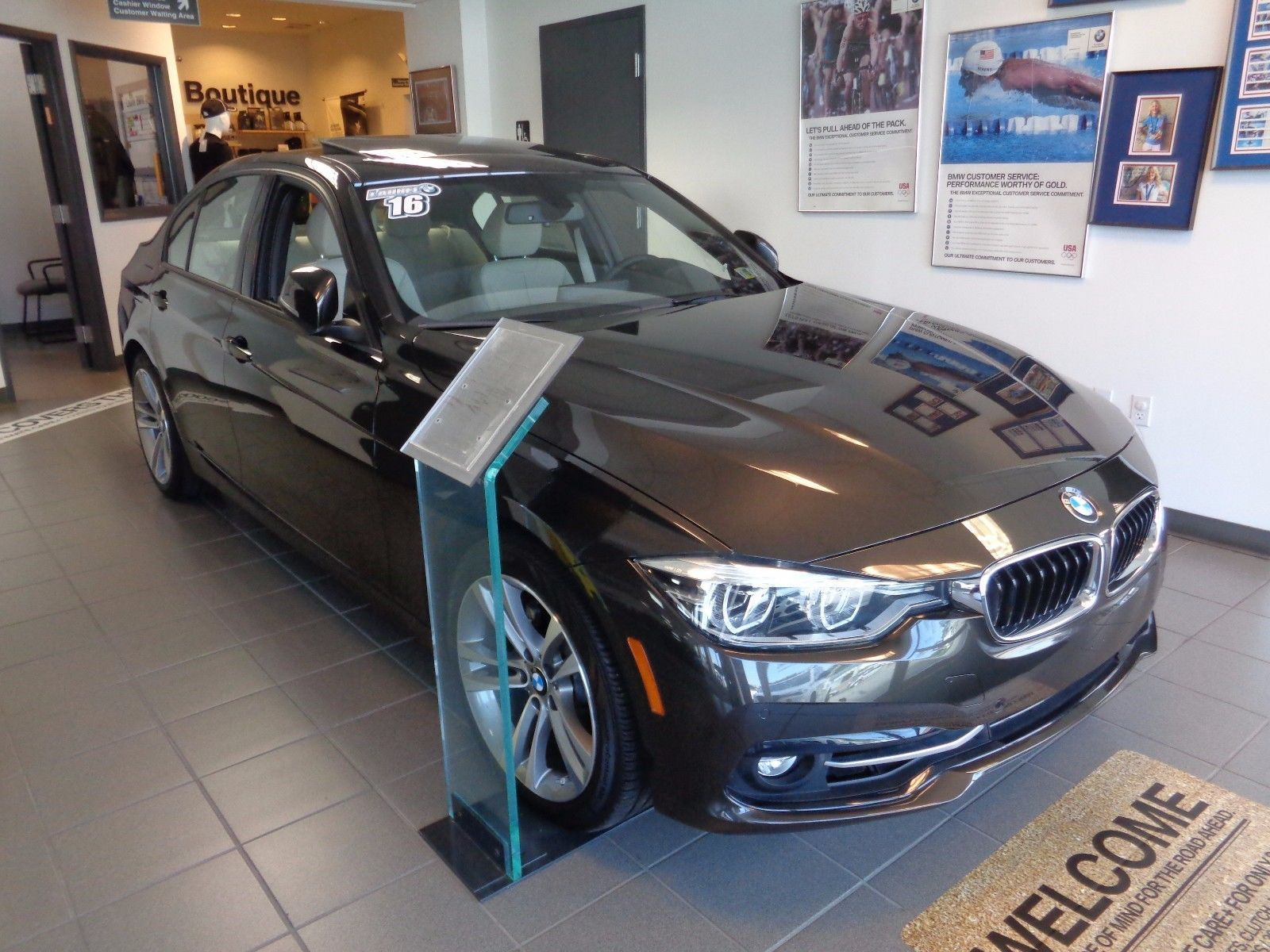 Great 2016 BMW 3 Series 328xi New 2016 BMW 328i XDrive Sedan Jatoba Brown  Sport Package Cold Weather Package 2017 2018