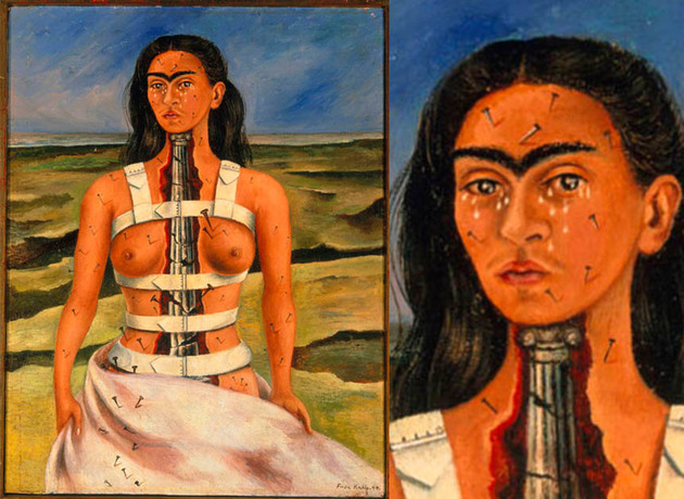 As obras mais intrigantes de Frida Kahlo