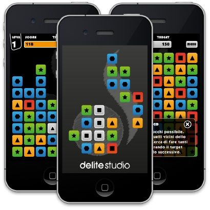 Delite Blocks: un nuovo puzzle game gratuito per iPhone e iPad