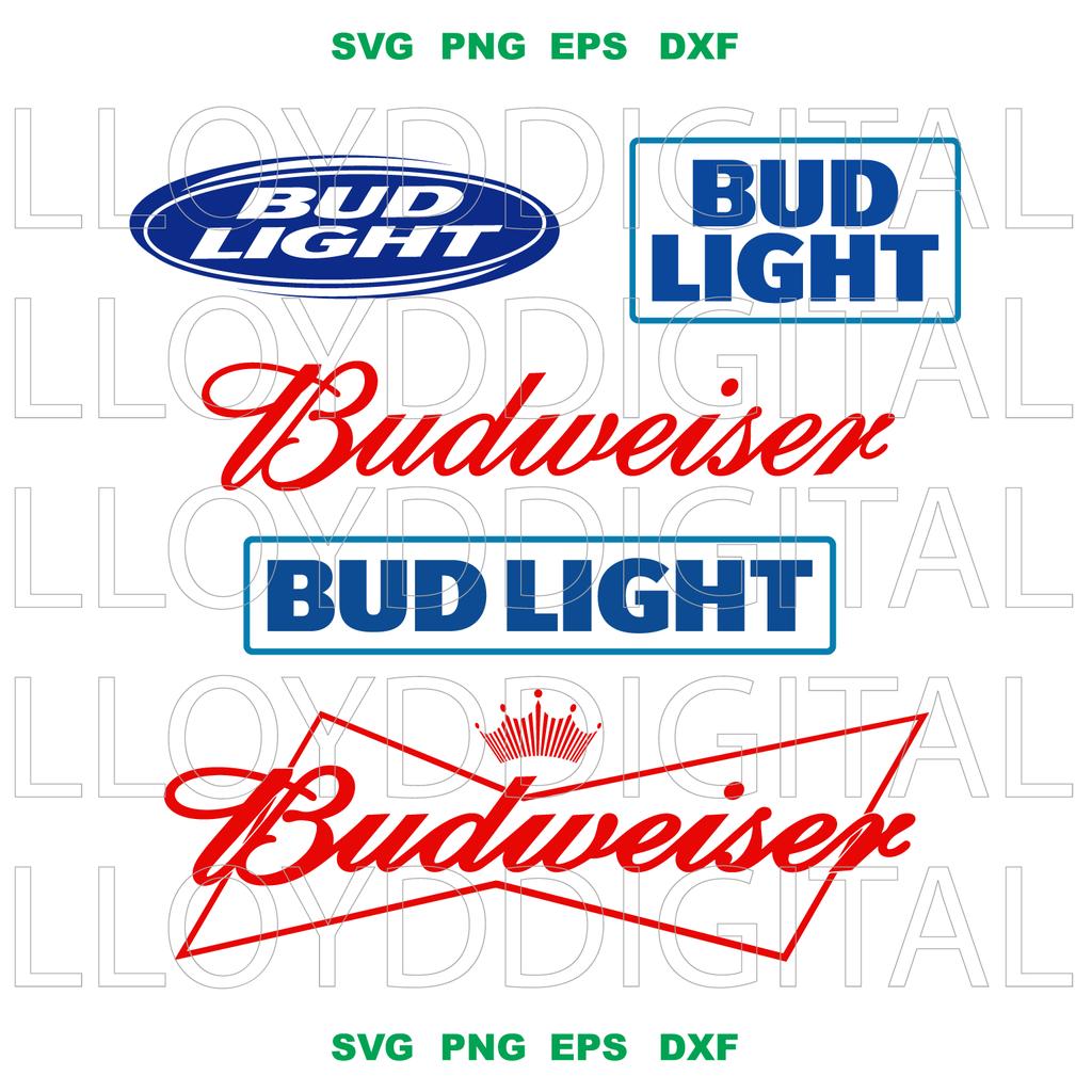 Bud Light Svg Files For Silhouette Files For Cricut Svg Dxf Eps Png Instant Download 1 Bud Light Svg Bud Light Beer