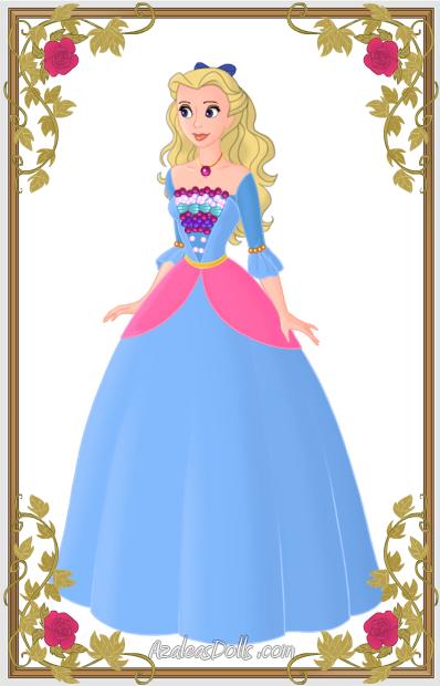 Disney+Barbie+Princess:+Rosella+by+Saeryena.deviantart.com+on+@deviantART