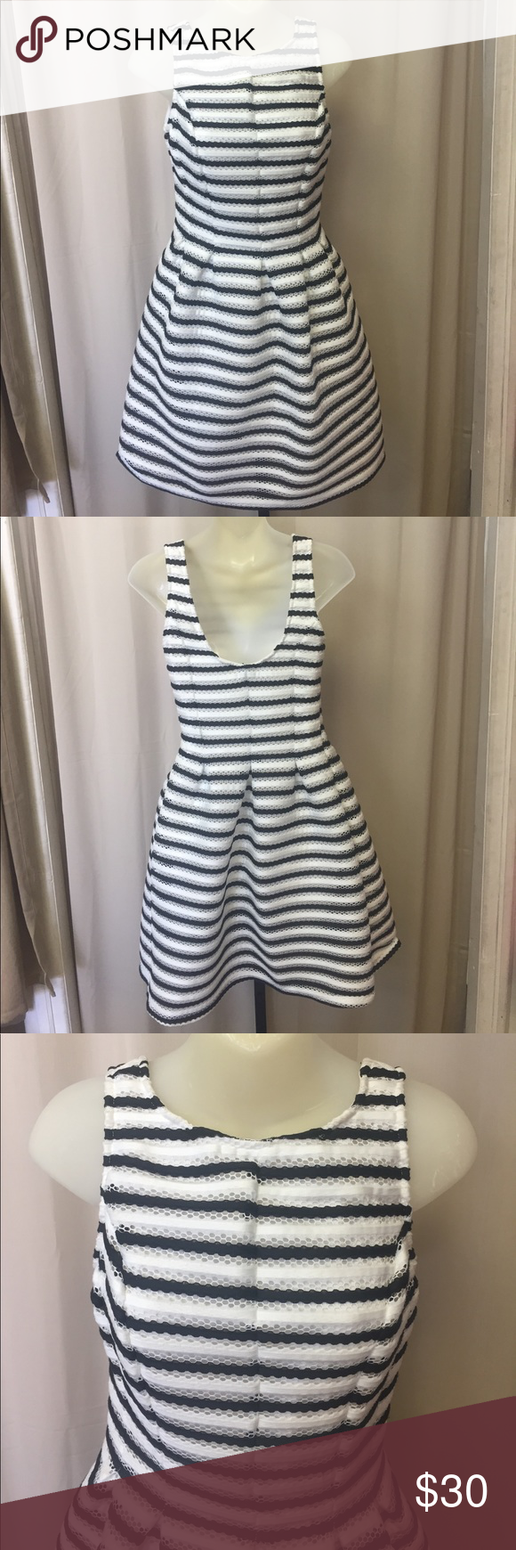 Black and white striped dress Black and white striped dress Mystic Dresses