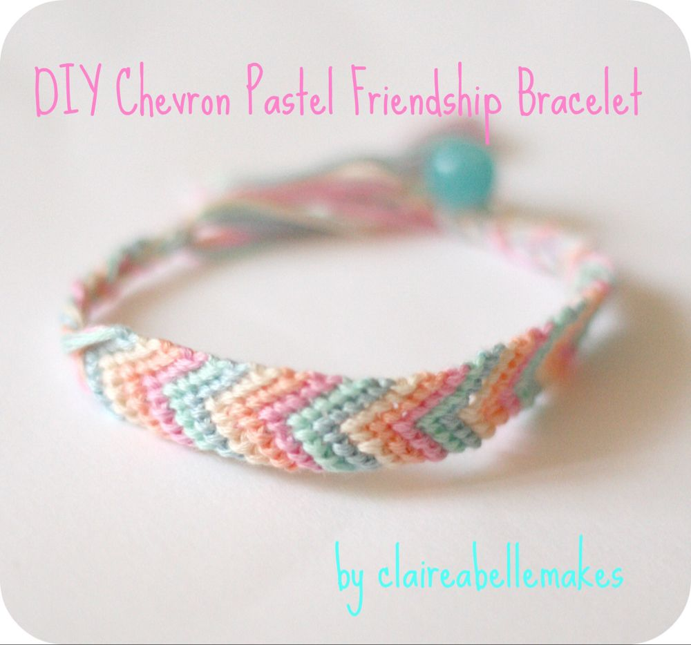 As a teen, I was obsessed with makingFriendship Bracelets and I'm so pleased to see they have made a comeback recently! My favourite type is the easy Chevron Friendship Bracelet made with embroidery thread and a few knots. This is a great project to make in front of the TV, so I hope the DIYRead more