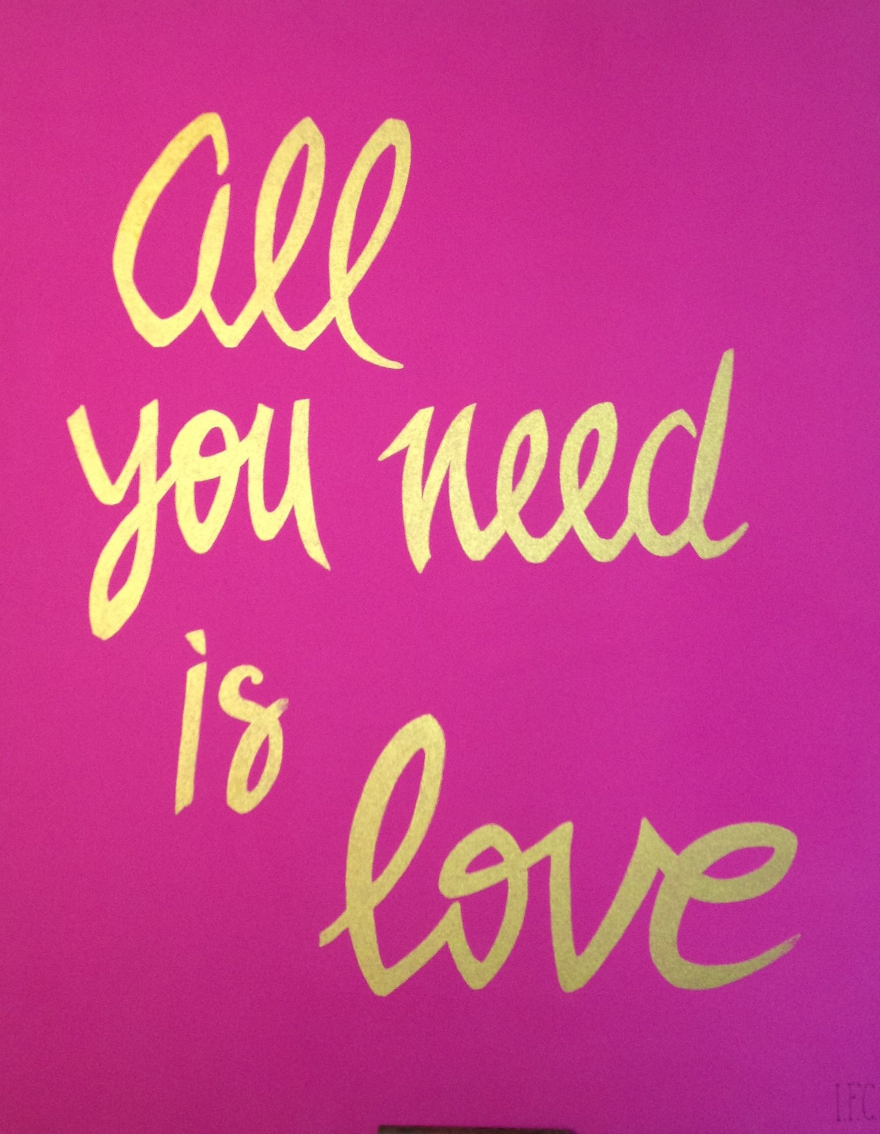 All You Need Is Love And A Little More Pink In Your Life All