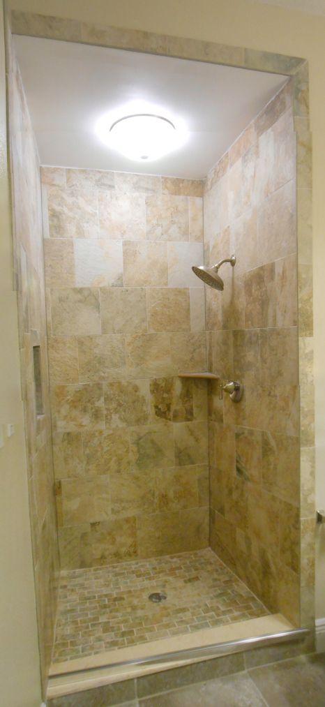 Sandy Beach Tile Bathrooms Beach Shower Bathroom