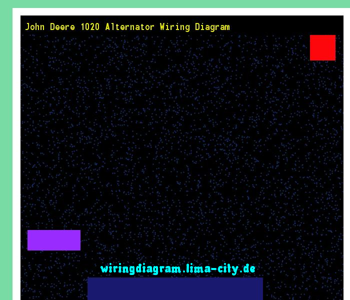 John Deere 1020 Alternator Wiring Diagram  Somurich