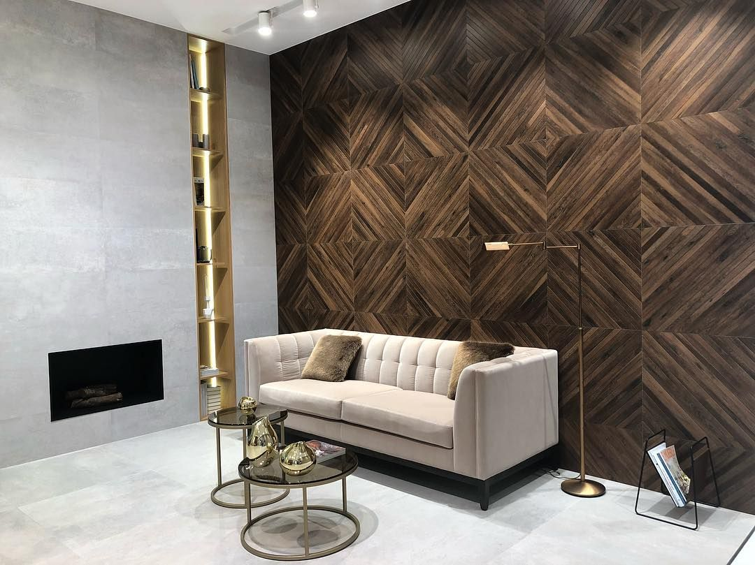 Pin By Mod Wood Art On Furniture Accent Walls In Living Room Wooden Wall Design Accent Wall Designs