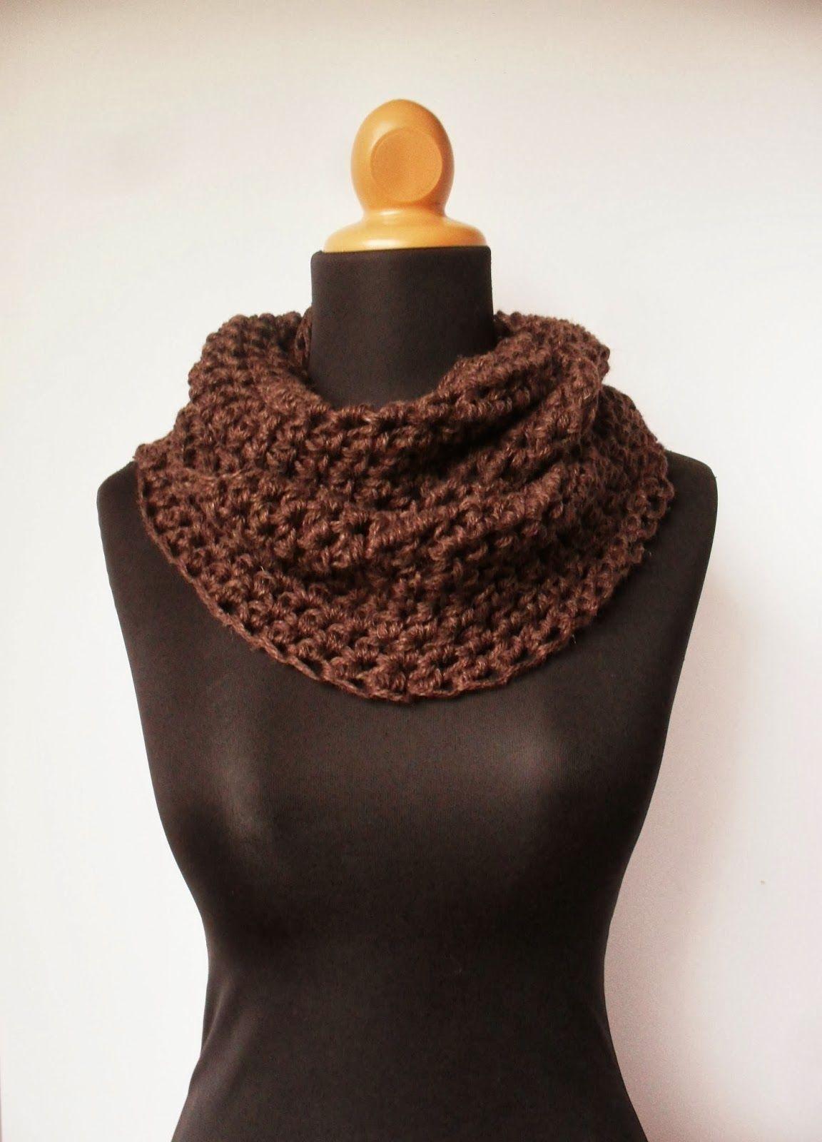 Free Crochet Pattern for a Chunky Cowl (The Art of Zen.......Crochet ...