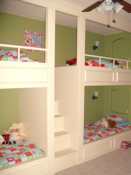 Pin By Leigh Ann Campbell On Kids Bunk Beds Bunk Beds Built In Modern Bunk Beds