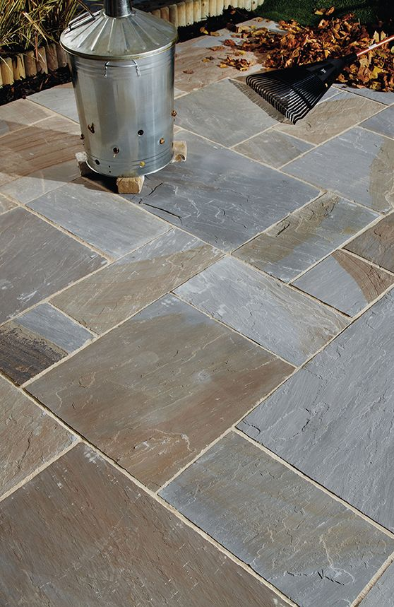 Old York Sandstone Flagstones Landscaping Patio Garden Path Weathered Style Paving Garden Paths Patio Garden Flagstone