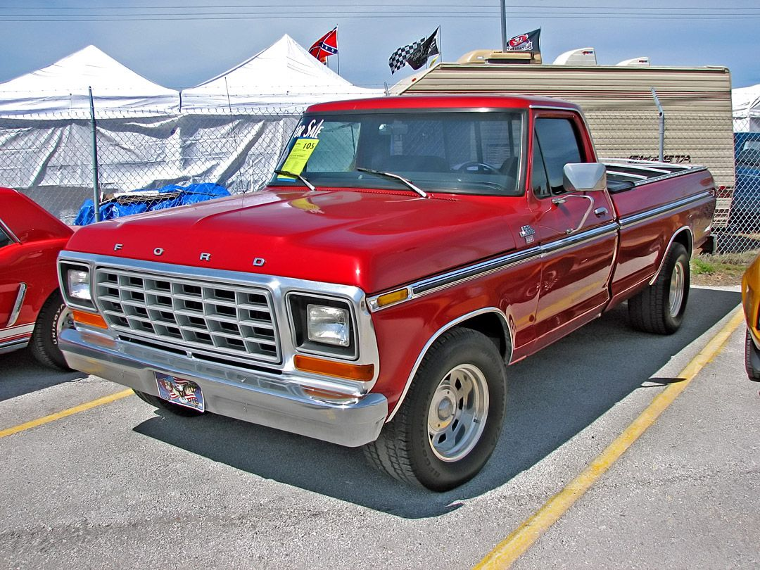 My fourth car was a truck. 1979 f150 xlt - Loved it ...