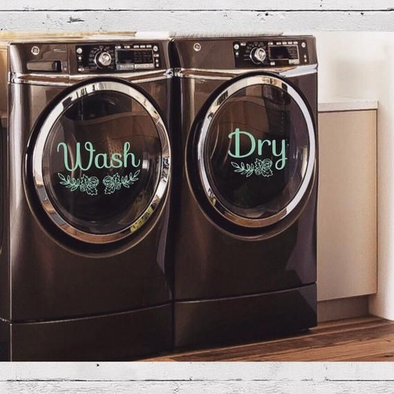 This Wash Dry Decal Set Is Perfect For Decorating Your