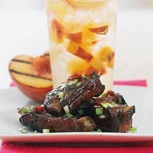 Photo of Peach and Ginger Glazed Riblets