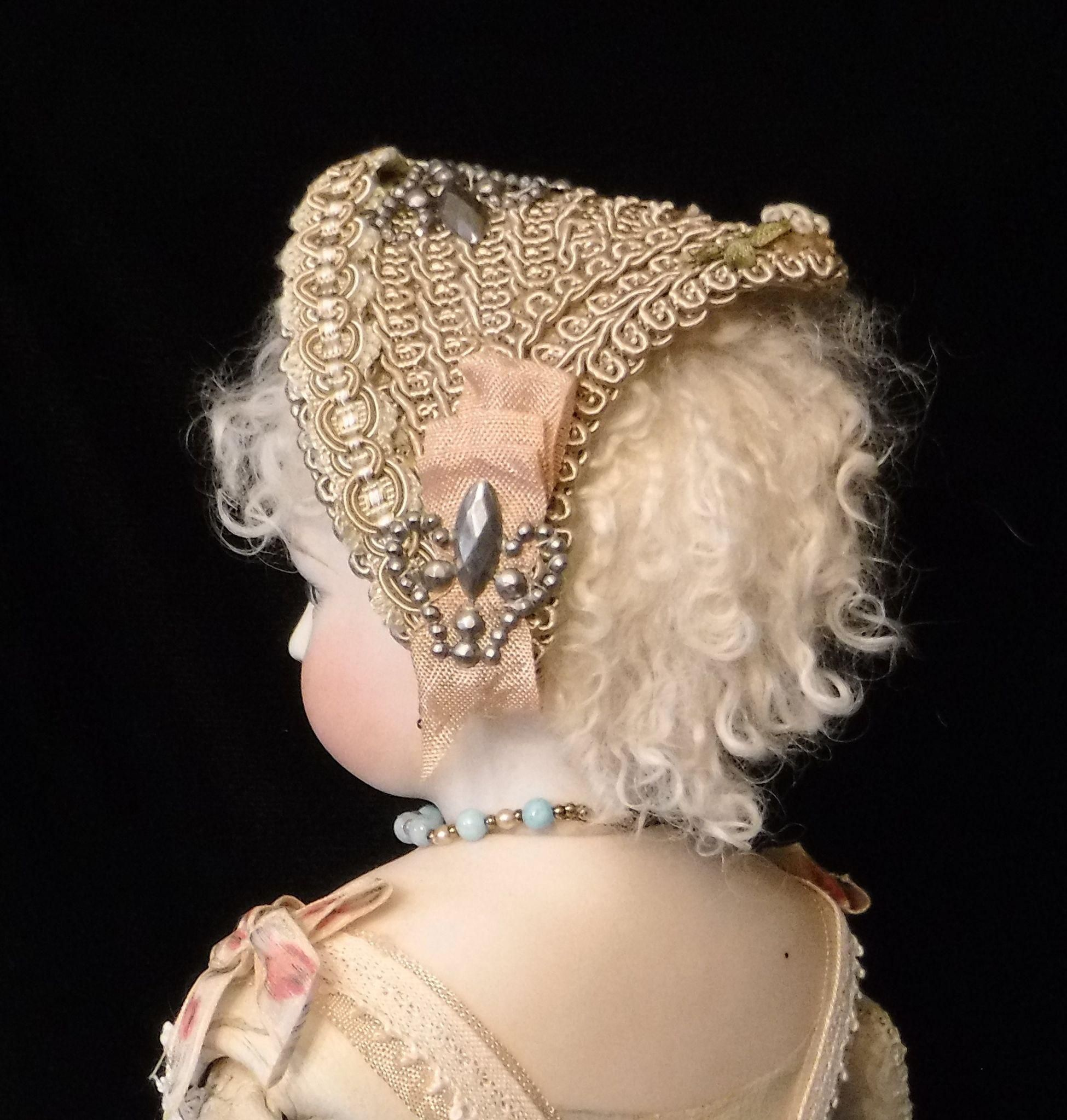 French Fashion Doll Hat #dollhats