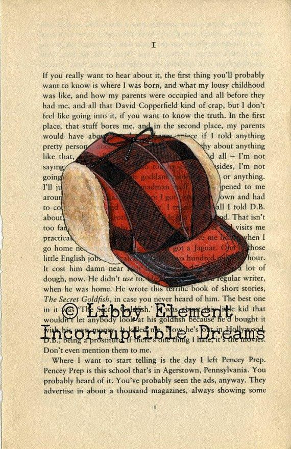 the catcher in the rye holden caulfields red hunting hat