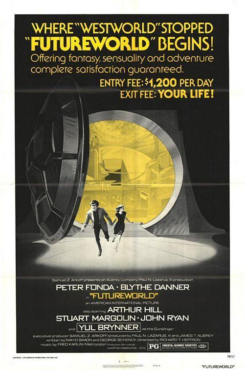 Futureworld Movie Posters Original Movie Posters Sf Movies
