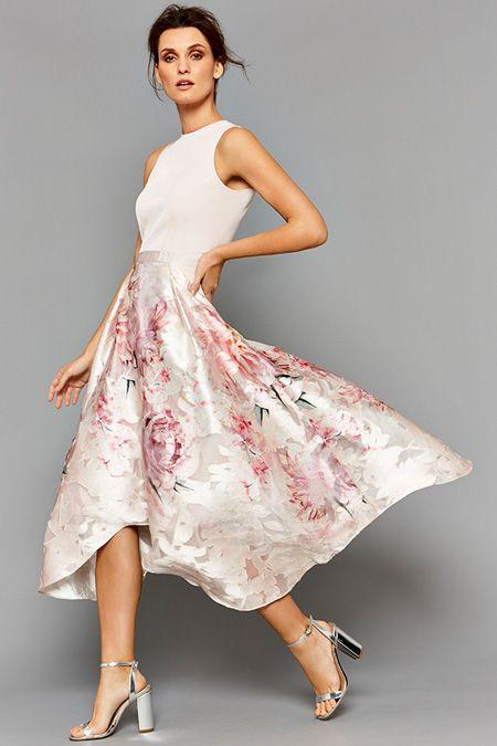 Midi Dresses For Weddings | Orsay Floral Midi Dress Her Dress My Dress In 2018 Pinterest