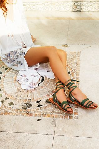 Shop now -> FP Collection Womens Harpoon Wrap Sandal