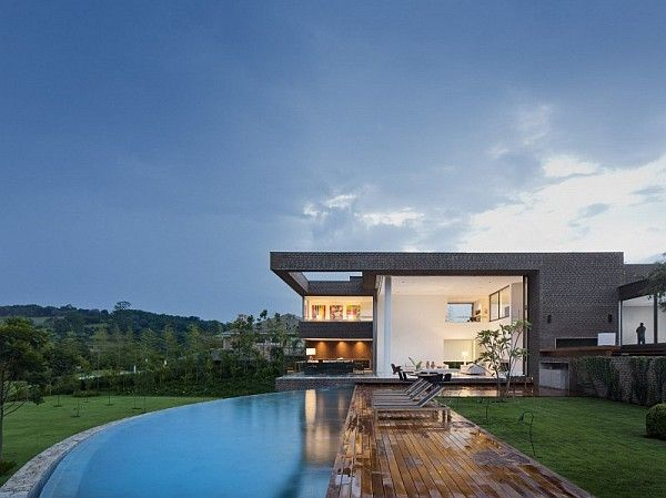 Architektur Ferienhäuser ferienhaus schwimmbad moderne architektur favorites architecture