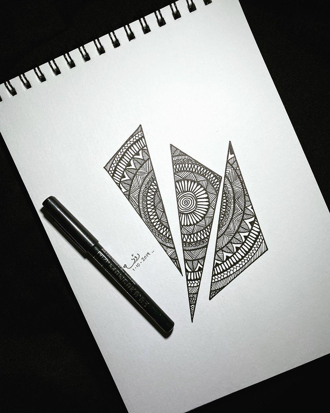 Draw Drawing Drawings Art Arts Artist Mandala Mandalala Mandalatattoo Mandalas Ink Black White Zendoodle Zenart D Instagram Posts Instagram Ink