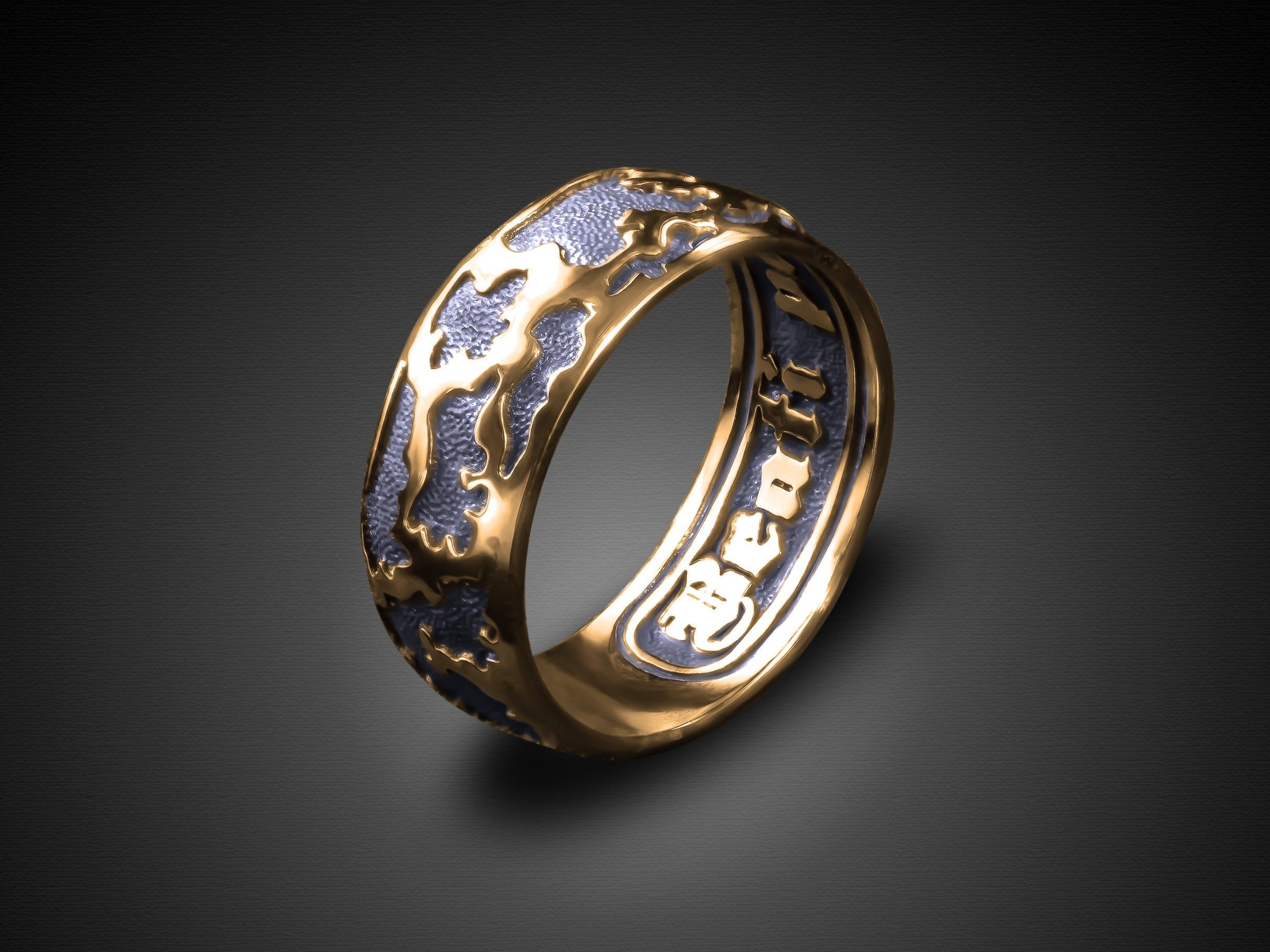 Miracle Happy Ring Beati Possidentes Happy Possessing Forever With You Luck Choose Happy Mantra Ring Inspiration Ring Message Inside Motivat Inspirational Ring Wedding Rings Rings For Men