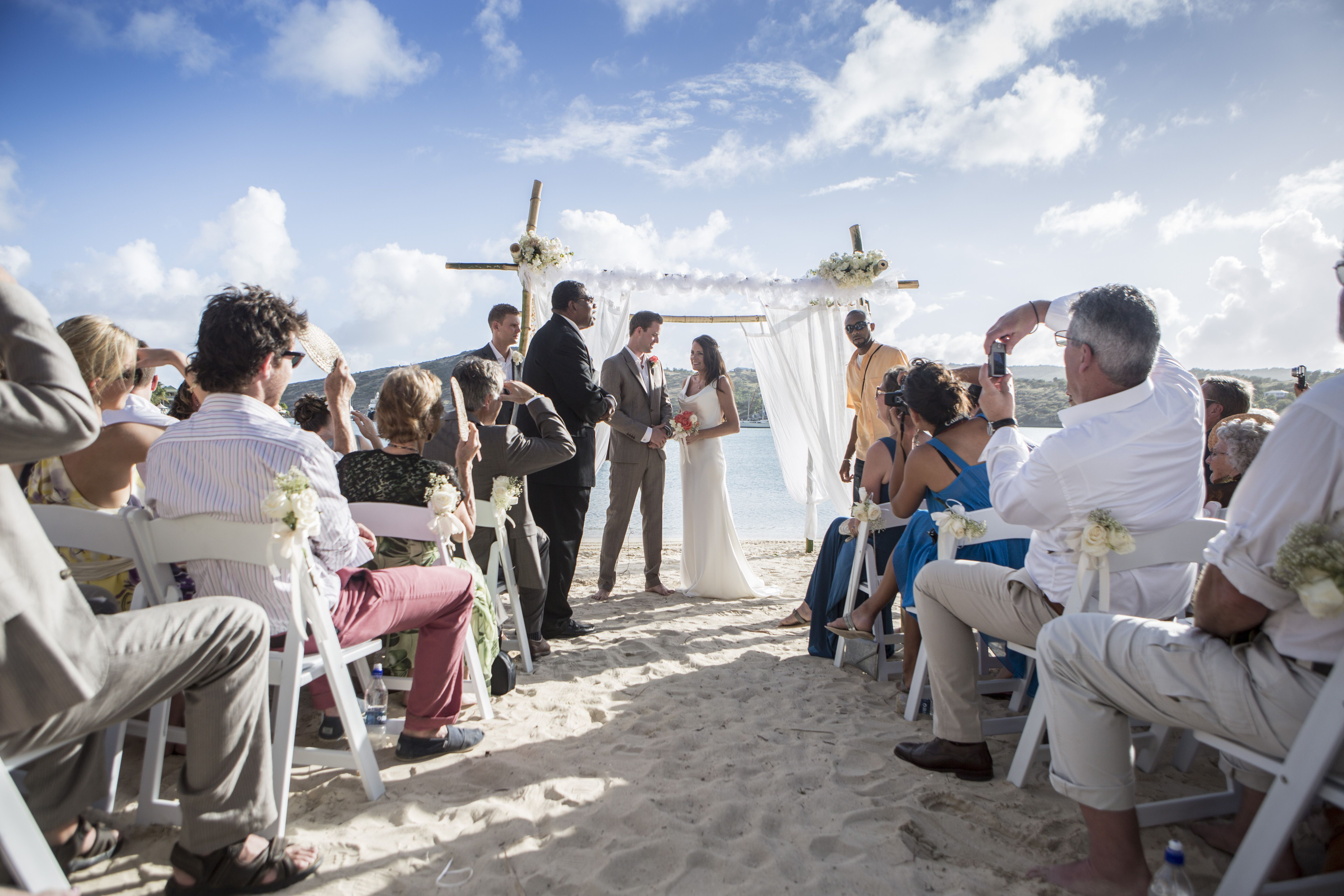 Chris & Pippa's Wedding - St James Club, Antigua