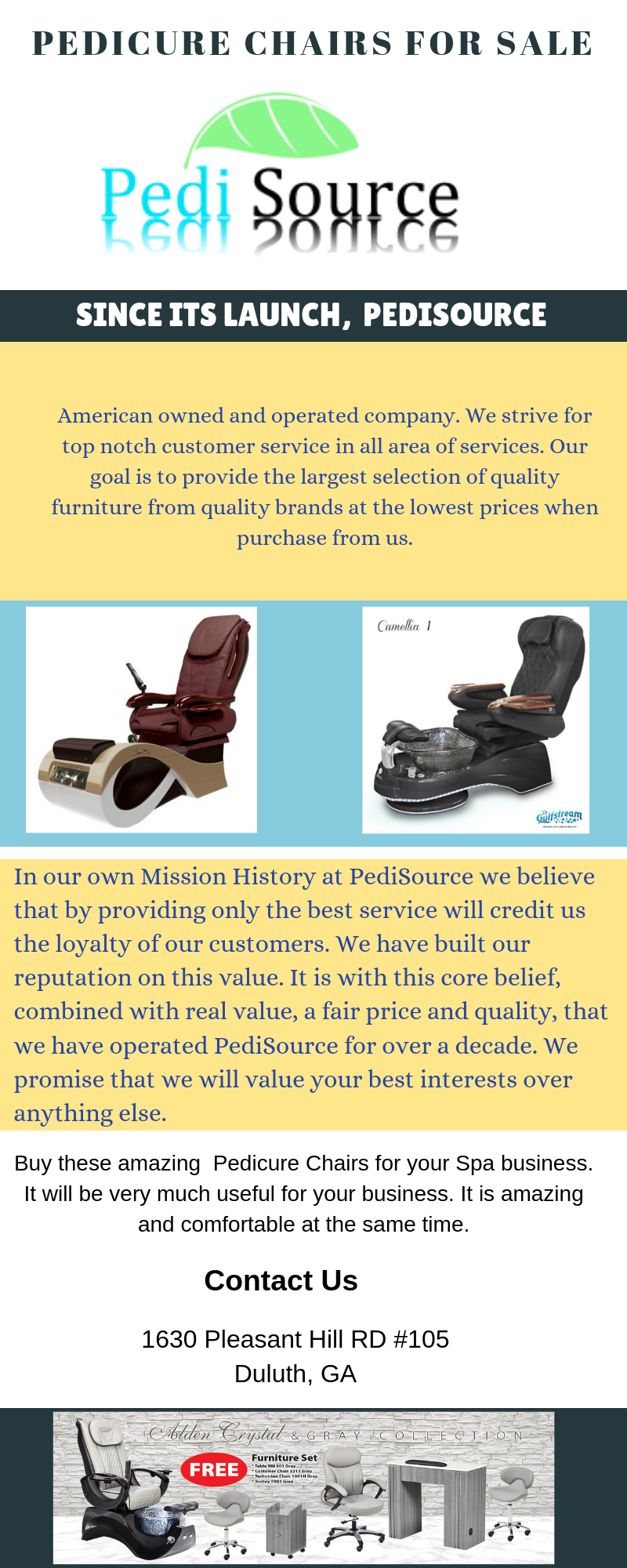 Enhance your salon or spa house with the #Pedicure chairs