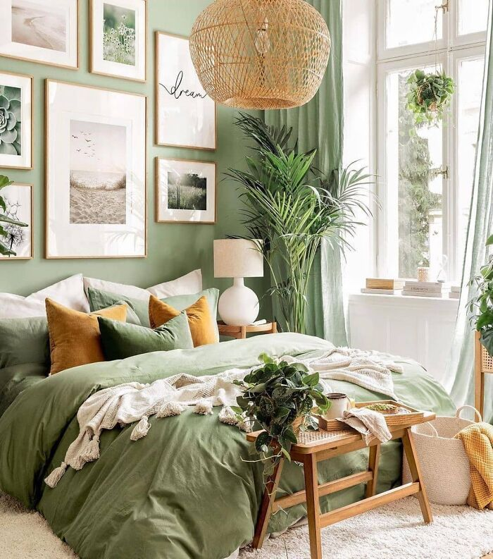 In Love With This Bedroom Style