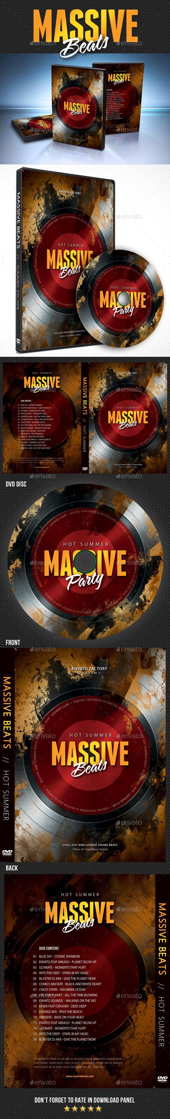 summer grunge party dvd cover template cd dvd artwork print templates