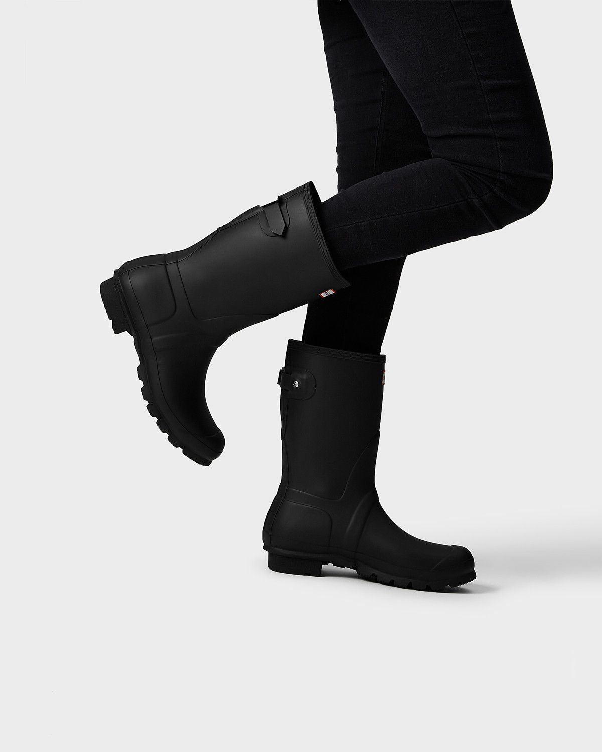 c1daae57f81 women's original short back adjustable rain boots This rain boot is ...