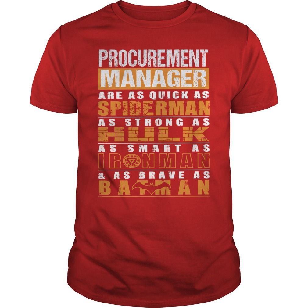 PROCUREMENT MANAGER T-Shirts, Hoodies. VIEW DETAIL ==▻ Funny Tee ...