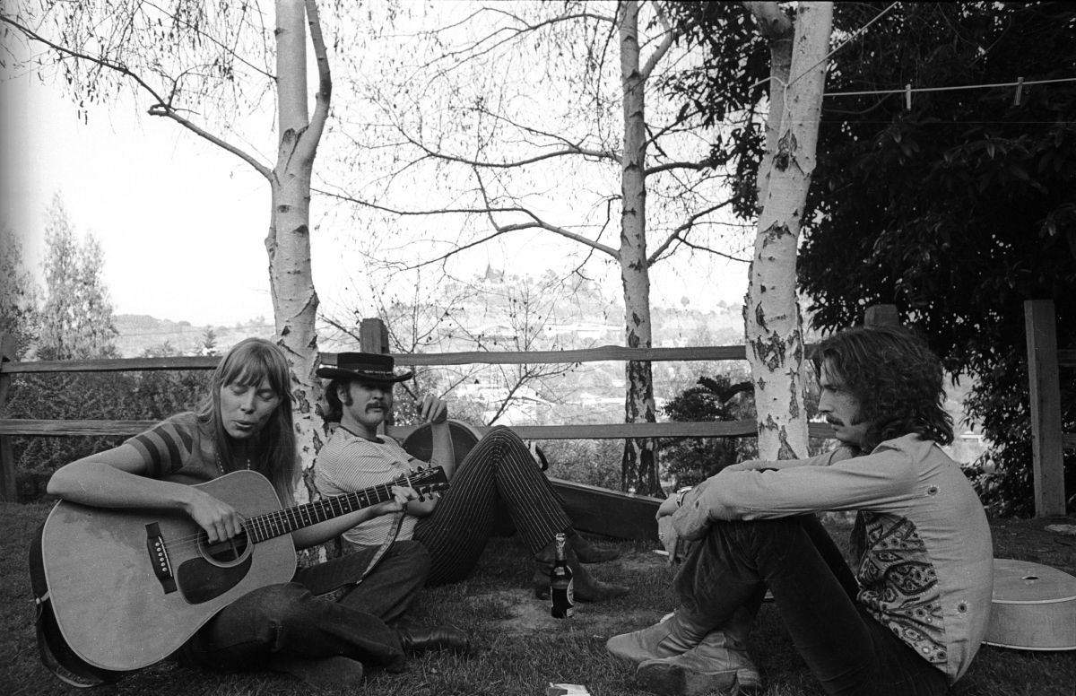JONI MITCHELL STEPHEN STILLS ERIC CLAPTON | Laurel canyon, Eric ...