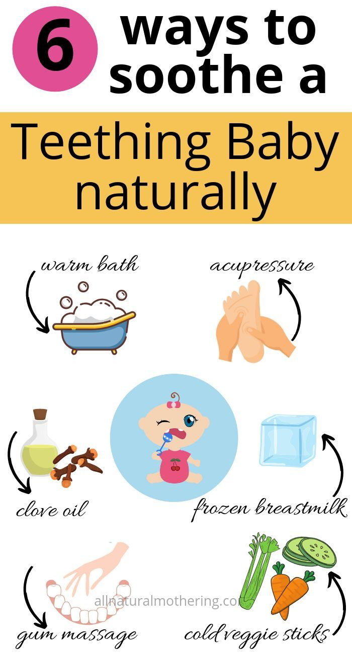 Natural Teething Remedies : 5 Ways to Soothe a teething baby - All Natural Mothering