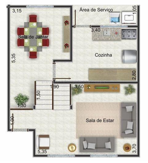 Planos de casas pequenas de dos pisos proyectos que debo for Diseno de recamaras pequenas