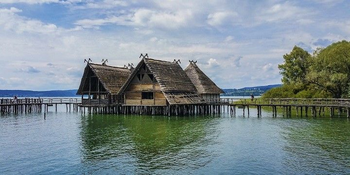 Pile Dwelling Museum, Unteruhldingen, Lake Constance, Southern Germany, Germany, Europe
