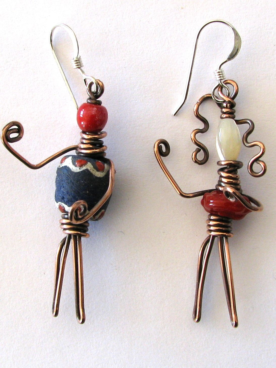 The Bead People Earrings and How they began | Bead inspiration ...