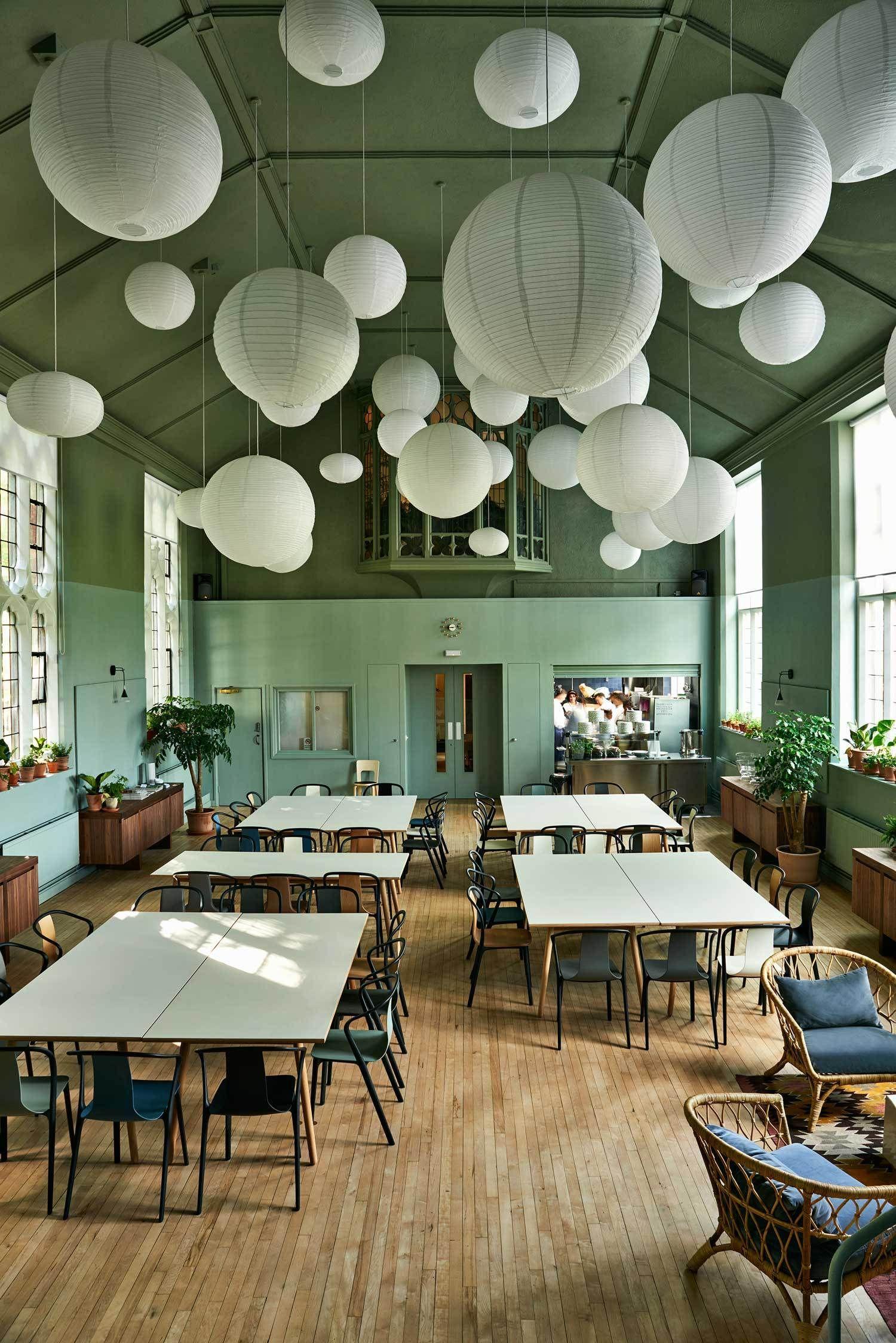 Food For Soul S Refettorio Felix Soup Kitchen In London By Studioilse Soup Kitchen Decor Interior Design