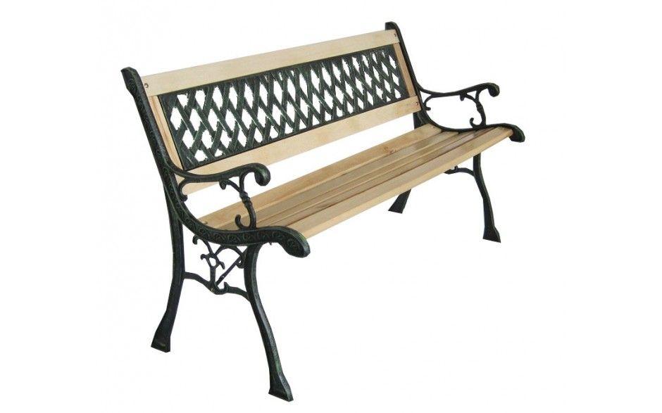 3 Seater Wooden Garden Bench Wooden Park Bench