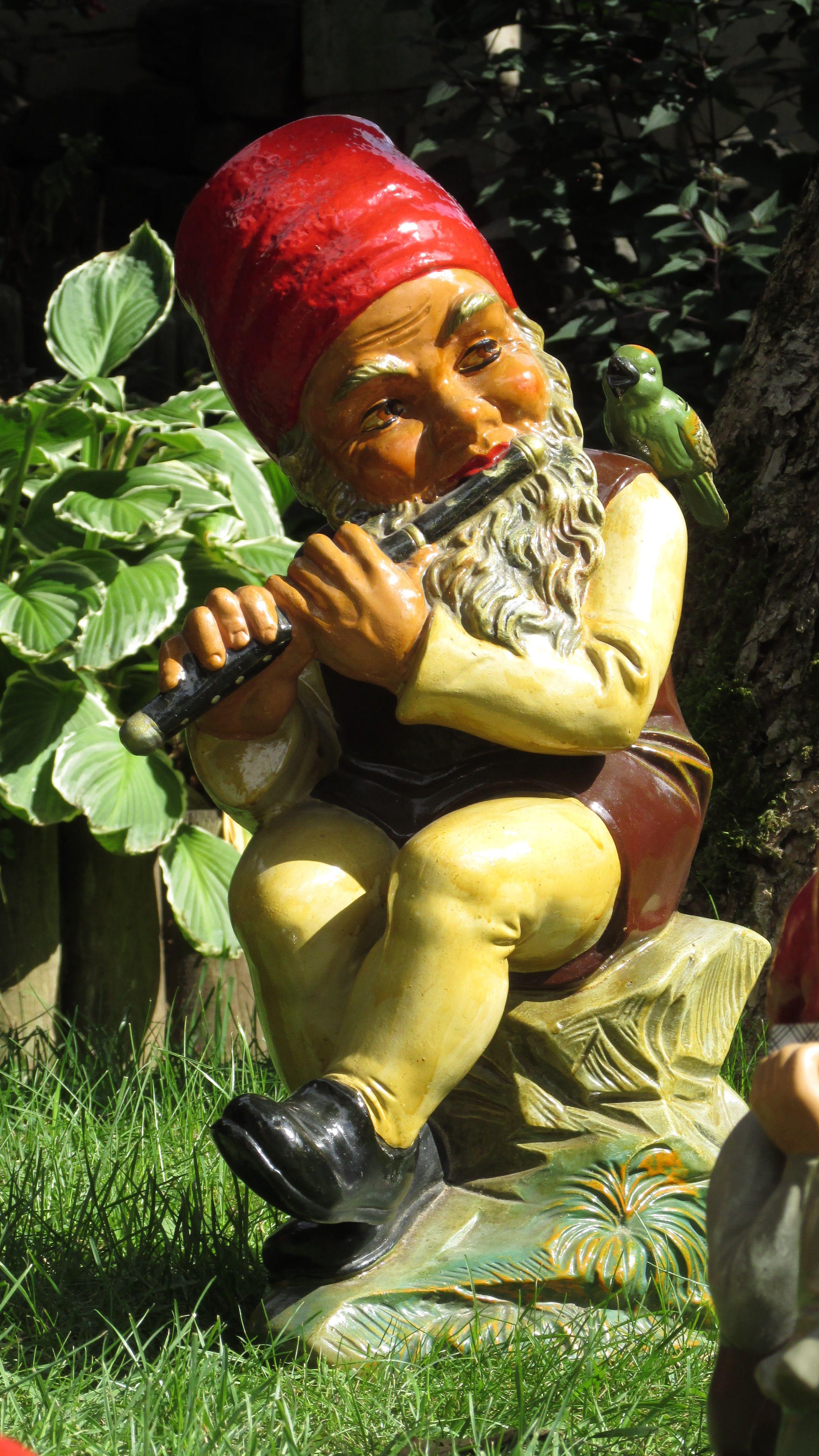 Heissner um 1960 in 2020 Gnome garden, Gnomes, Carving