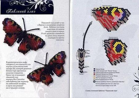 схема бабочки из бисера: 13 тыс изображений найдено в ...