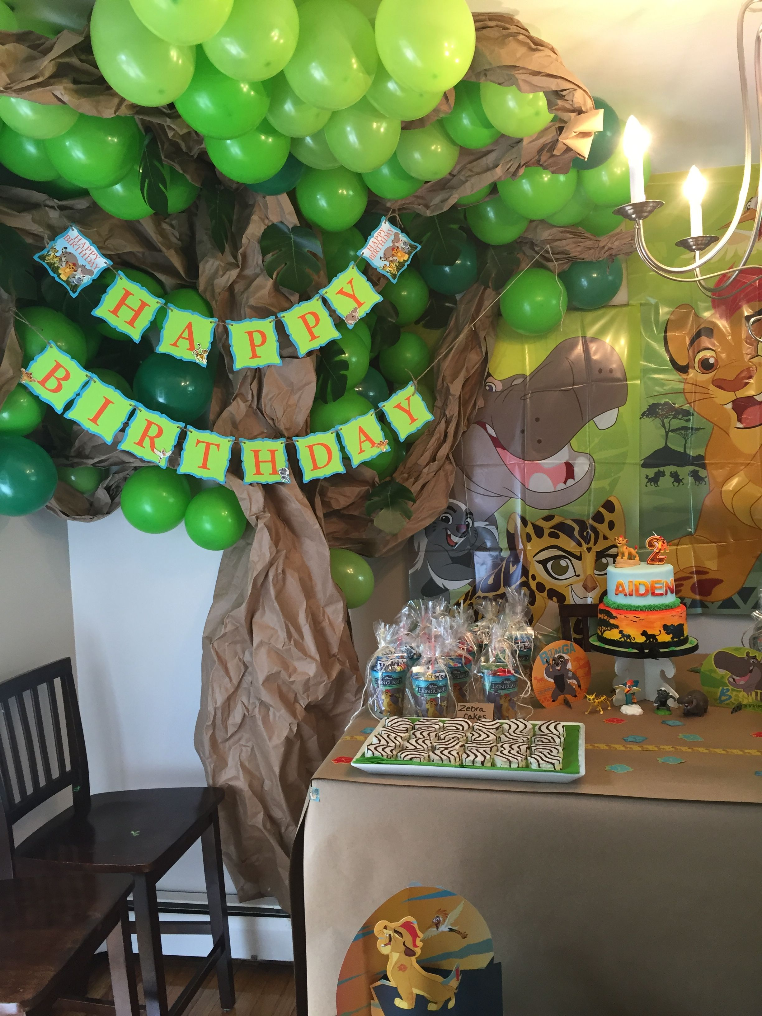 Lion guard safari birthday