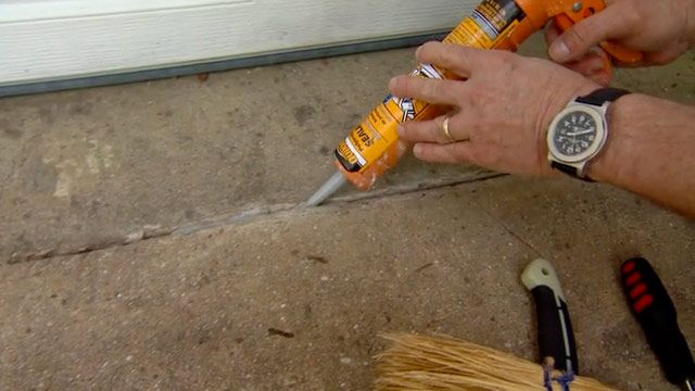How To Caulk And Seal Cracks In A Concrete Driveway | Todayu0027s .