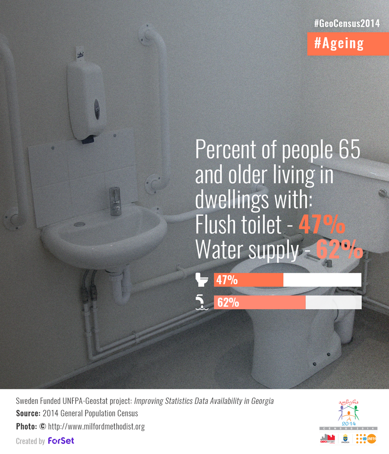 Percent Of People 65 And Older That Have Access To Flush Toilet 47 Water Supply 62 Sweden Funded Unfpa Ge Water Supply Data Effective Communication